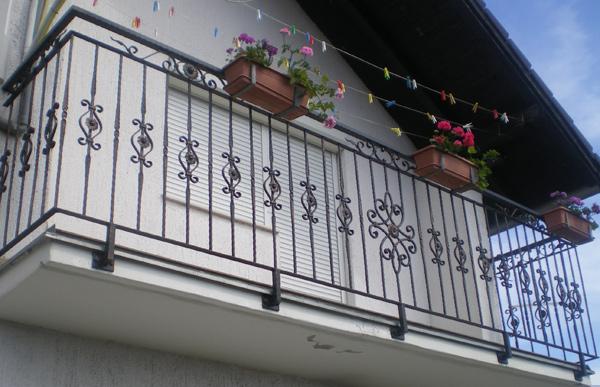 Balkonska ograda.